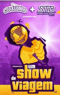 Cadastrar Promoção Um Show de Viagem Croasonho 2016 2017