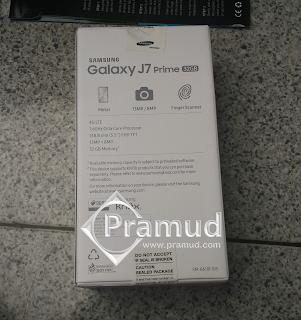 bongkar kardus, box samsung galaxy j7 prime indonesia - pramud blog