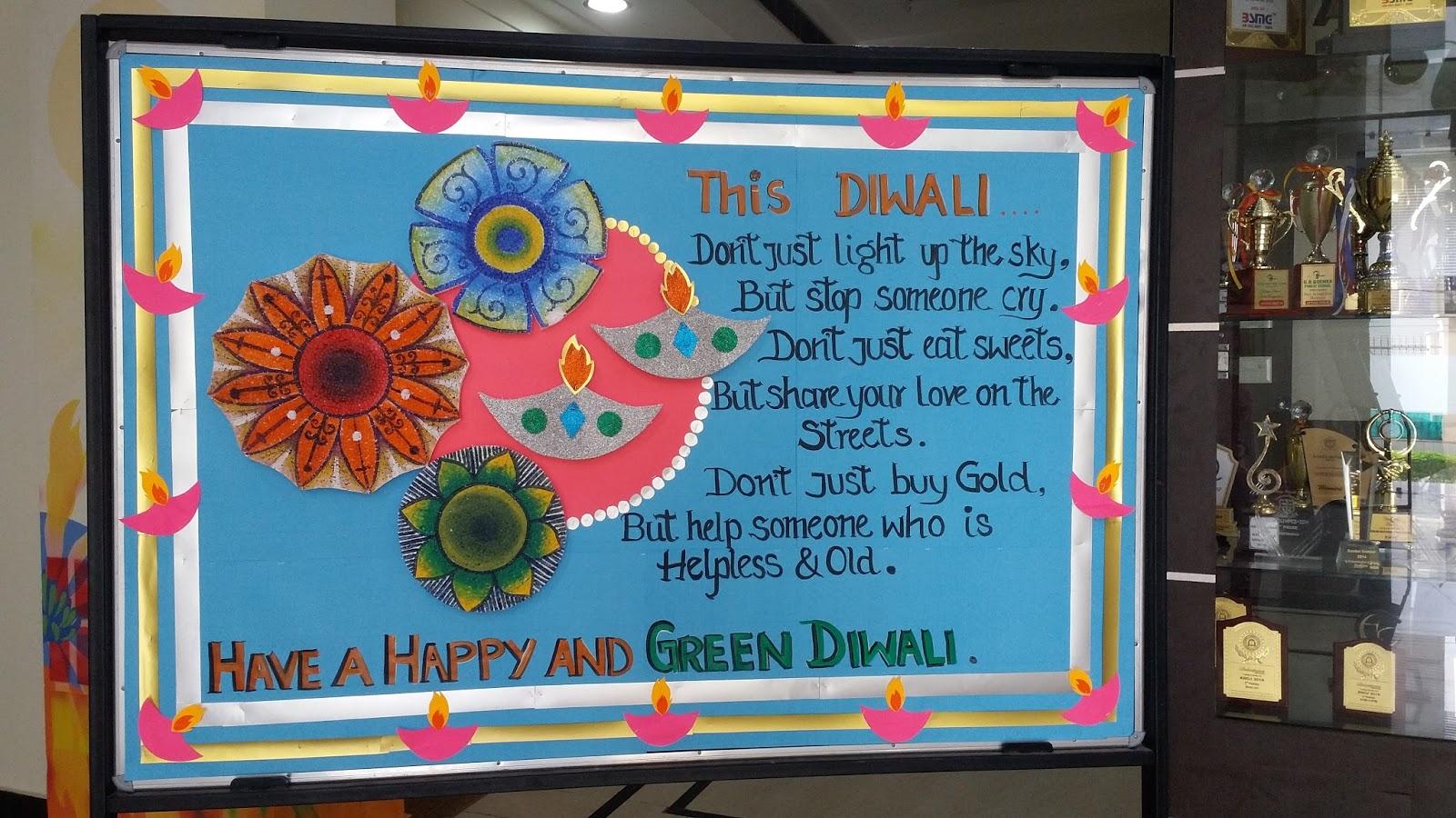 Diwali Bulletin Board