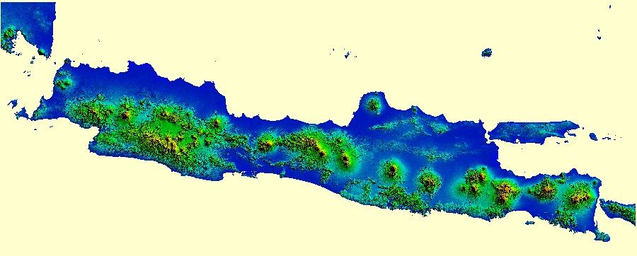 Geodesi Untuk Indonesia Cara Download DEM SRTM - Dem global