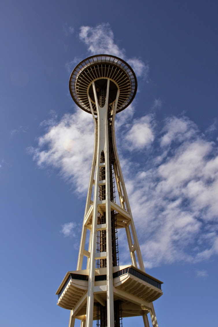 Seattle CityPASS review; space needle