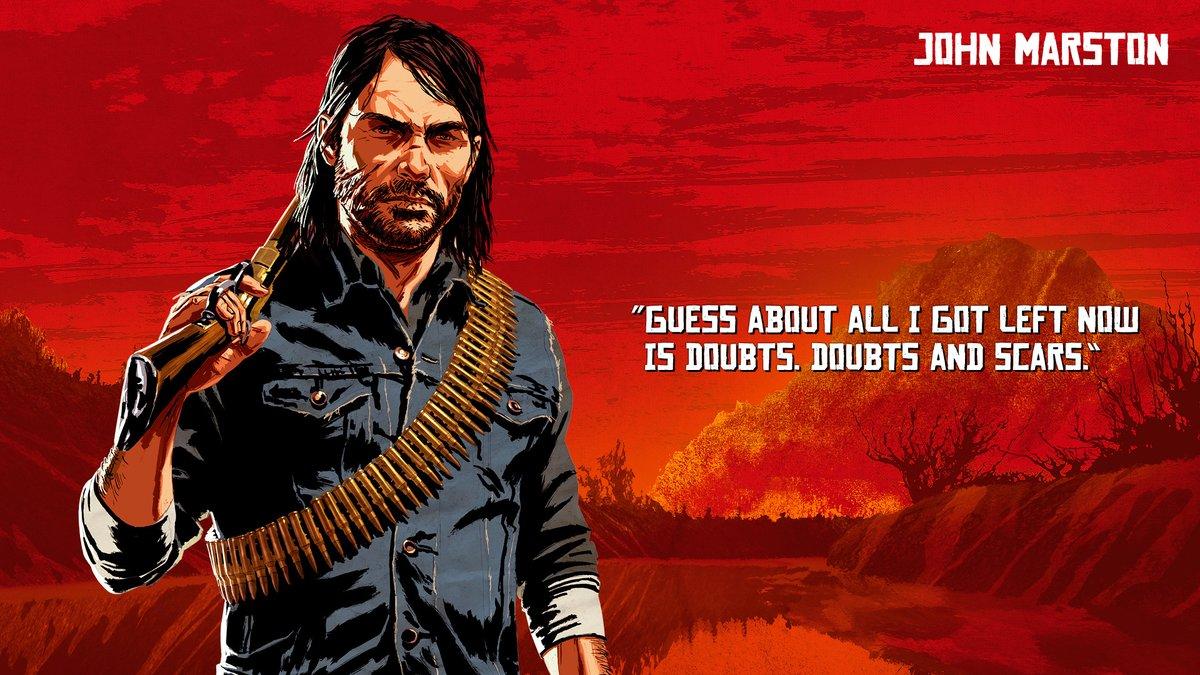John Marston - Red Dead Redemption 2