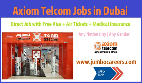 UAE mobile company jobs with free visa and air ticket, Urgent Dubai Mobile company jobs,