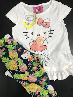 atacado roupa infantil hello kitty