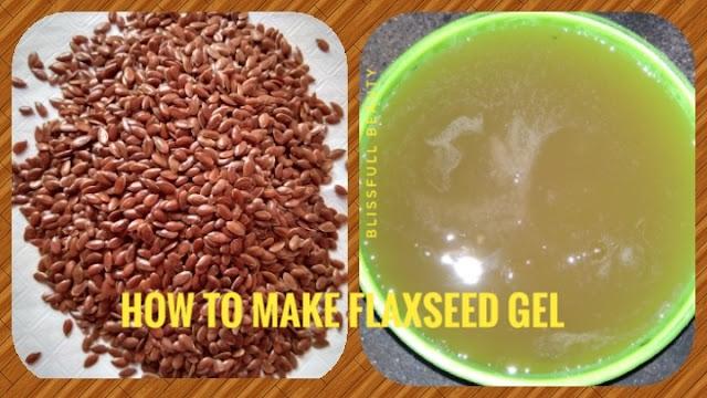 How to make Flaxseed gel (DIY)