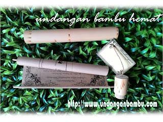 undangan bambu termurah