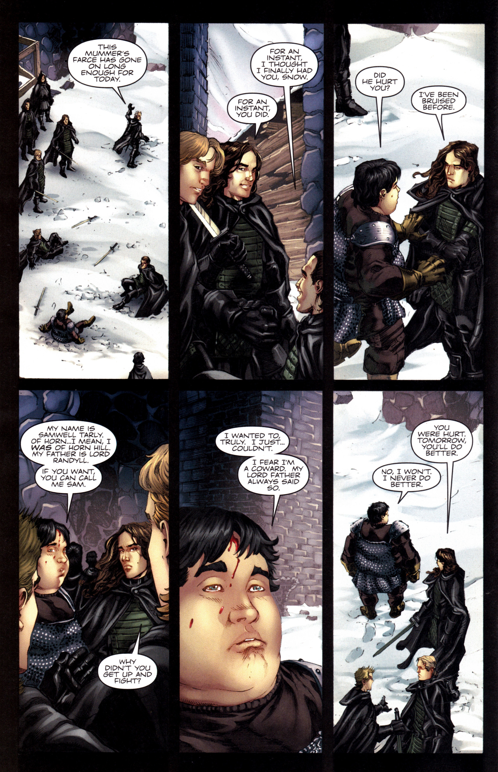 Read online A Game Of Thrones comic -  Issue #8 - 16