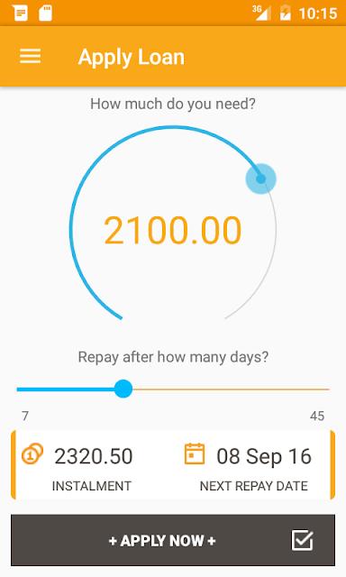 Step by step process of repaying haraka loan