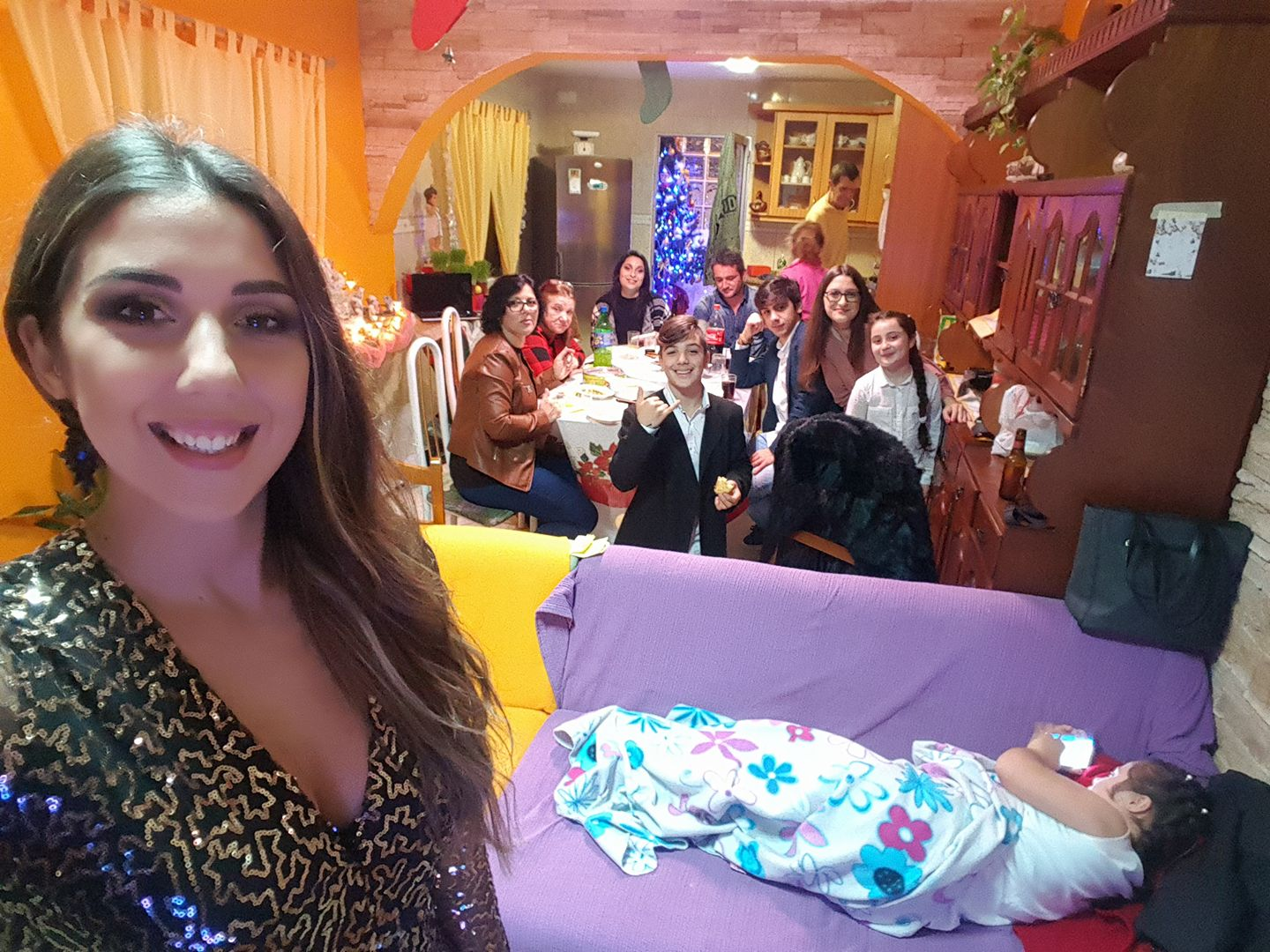 New Years with Family