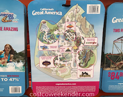 Costco 1243658 - Summer fun awaits at Great America and Boomerang Bay!