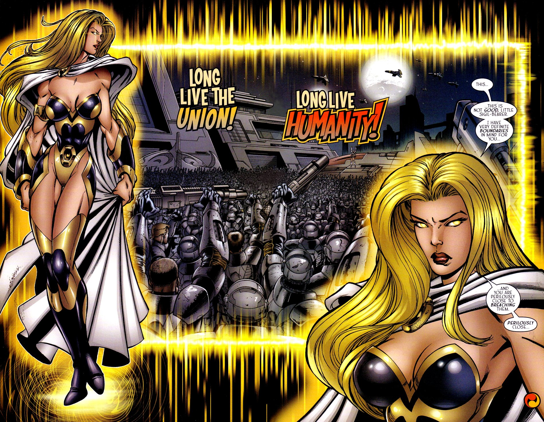 Read online Sigil (2000) comic -  Issue #15 - 24