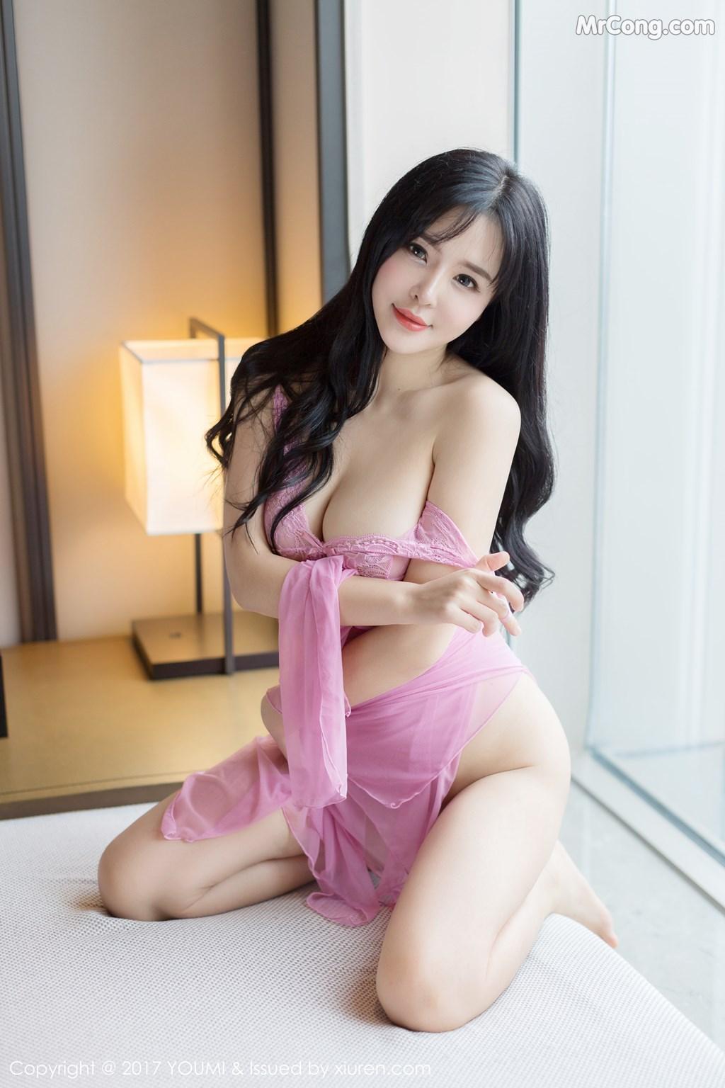 Image YouMi-No.067-Liu-Yu-Er-MrCong.com-016 in post YouMi No.067: Người mẫu Liu Yu Er (刘钰儿) (45 ảnh)