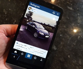 Cara Direct Message (DM) Instagram di BlackBerry 10 dengan Mudah