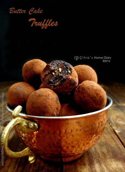 Pistachio Butter Cake Truffles