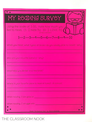 get to know your readers using a reading survey