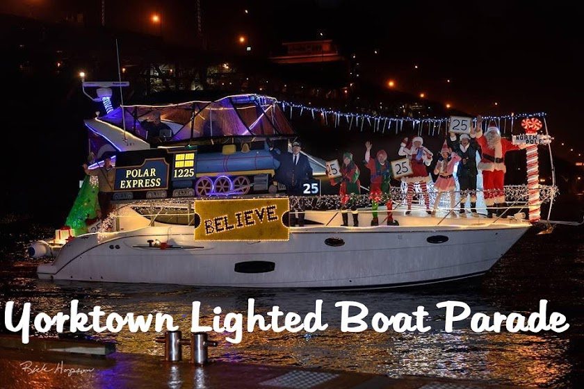 Yorktown Lighted Boat Parade