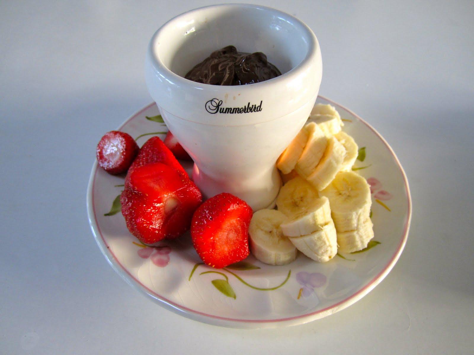 Fin Skoven for bare tæer: Chokolade fondue :) YM-86