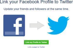 Cara Menghubungkan Twitter ke Facebook Melalui Hp