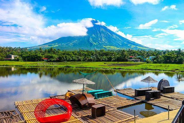 sumlang lake in legazpi albay