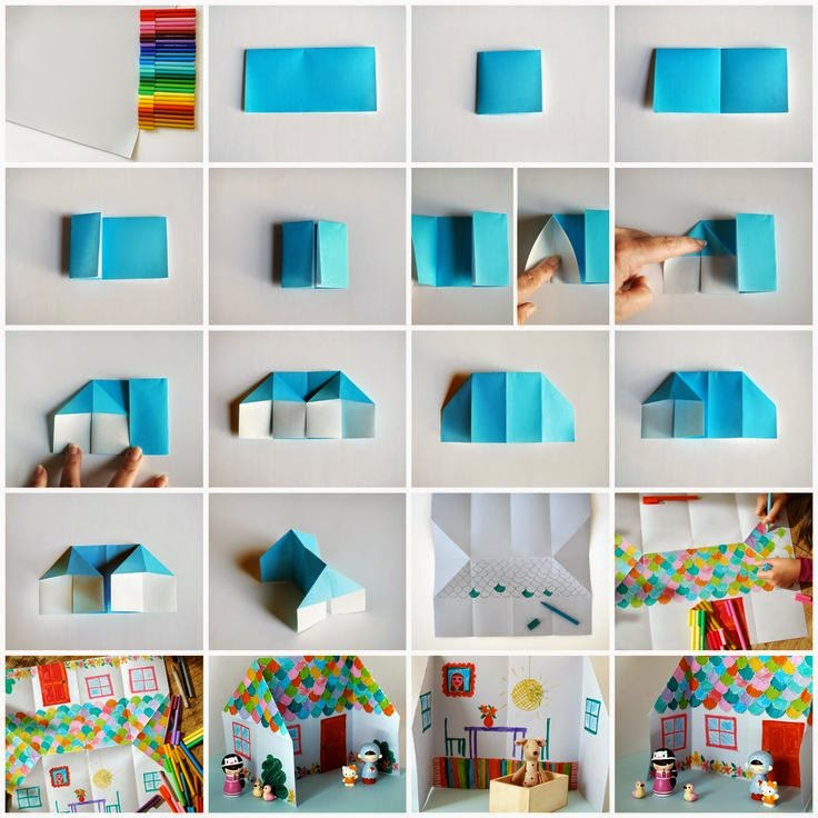 Origami Step By Step For Kids Art And Craft Projects Ideas