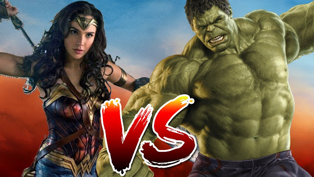 HULK VS WONDER WOMAN