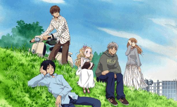 Hachimitsu to Clover - Anime Romance Sad Ending Terbaik