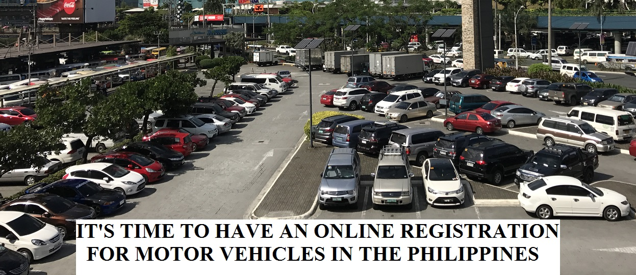 It's Time To Have An Online Registration For Vehicles In The Philippines