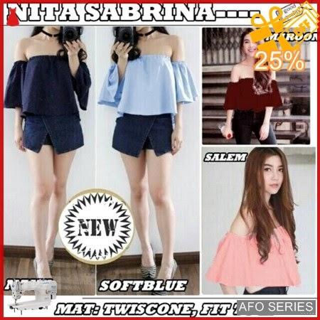 AFO021 Model Fashion Nita Sabrina Modis Murah BMGShop