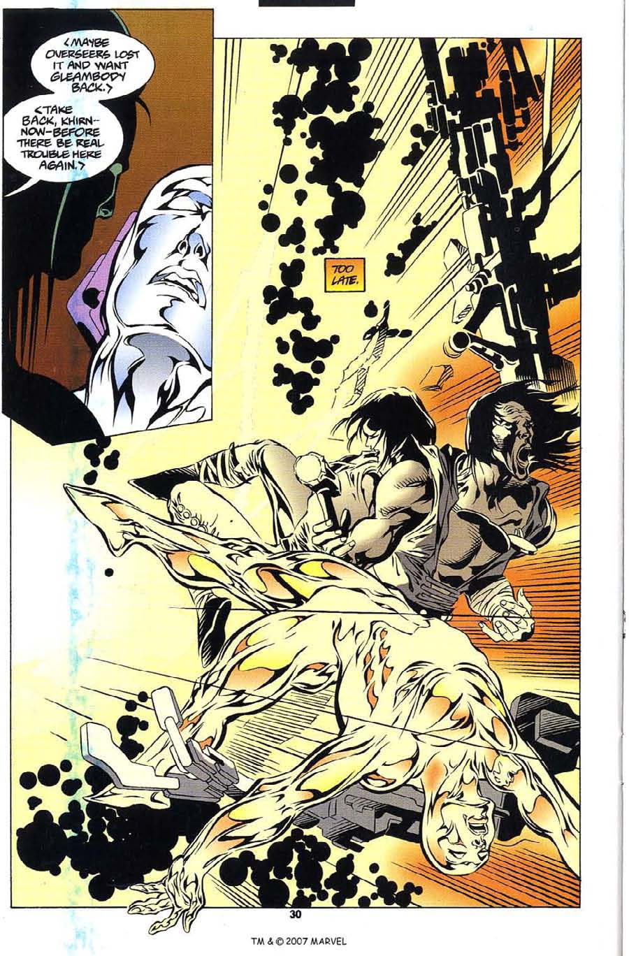 Read online Silver Surfer (1987) comic -  Issue #112 - 32