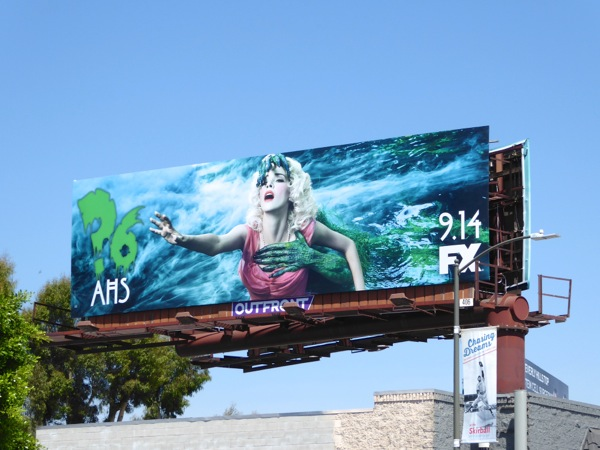 American Horror Story season 6 swamp creature billboard