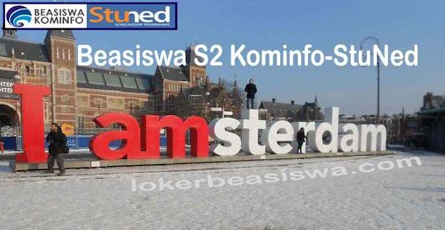 Beasiswa S2 Penuh Kominfo-StuNed ke Belanda