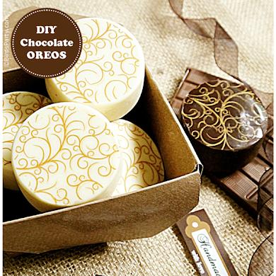 DIY Recette Oreos Designs Enrobés de Chocolat