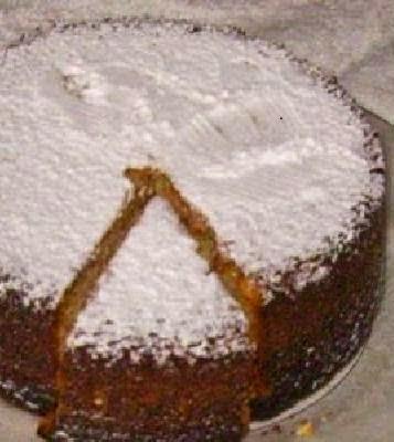 Torta de coco rallado
