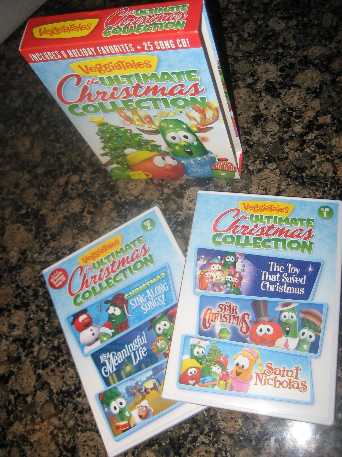 Ultimate Christmas Collection: Veggie Tales: The Ultimate Christmas Collection