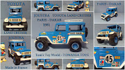 TOYOTA MODEL TOY CARS