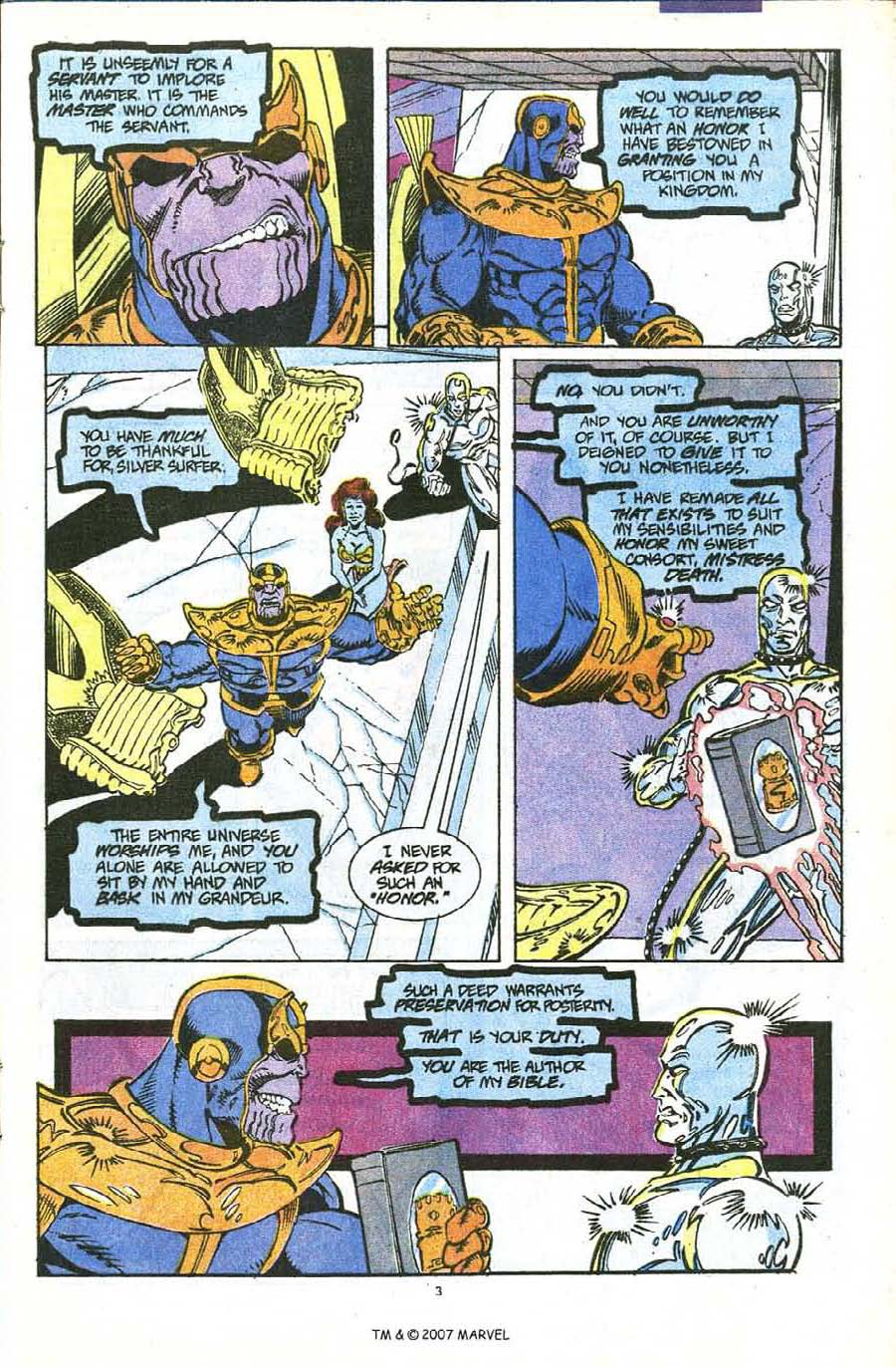 Read online Silver Surfer (1987) comic -  Issue #56 - 5