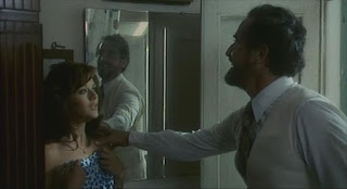 Agostina Belli and Vittorio Gassman in a scene from Dino Risi's Profumo di donna