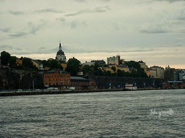 Söder desde el barco camino del hotel.