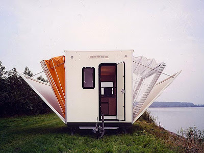 Diseño de casa móvil.