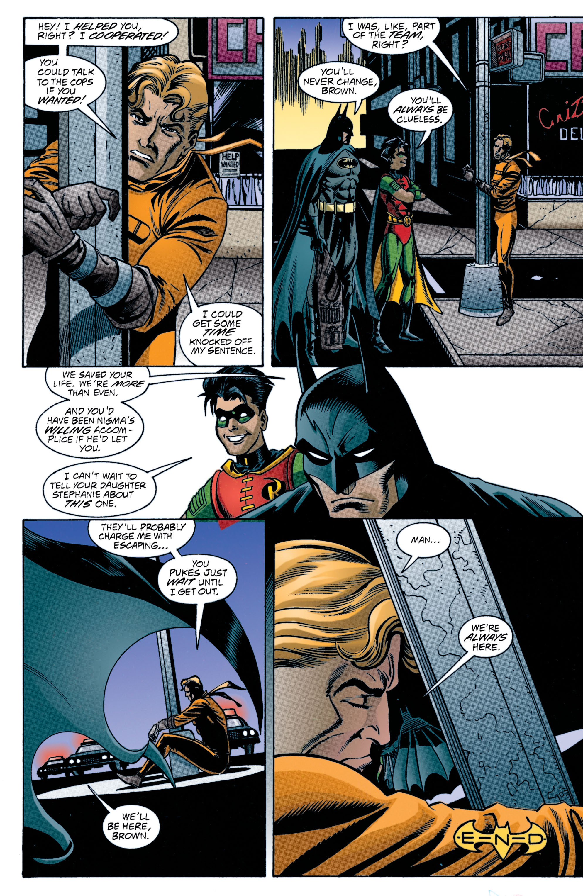 Detective Comics (1937) 707 Page 22