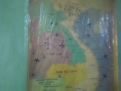 戦略図 ベトナム戦争の遺品