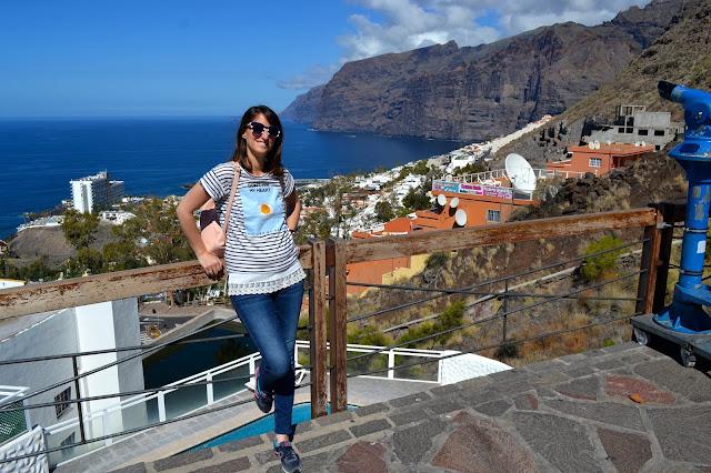 Vistas a los acantilados de Los Gigantes Tenerife islas canarias