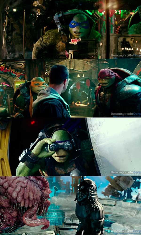 Tortugas Ninja 2 Fuera de las sombras HD 1080p Latino