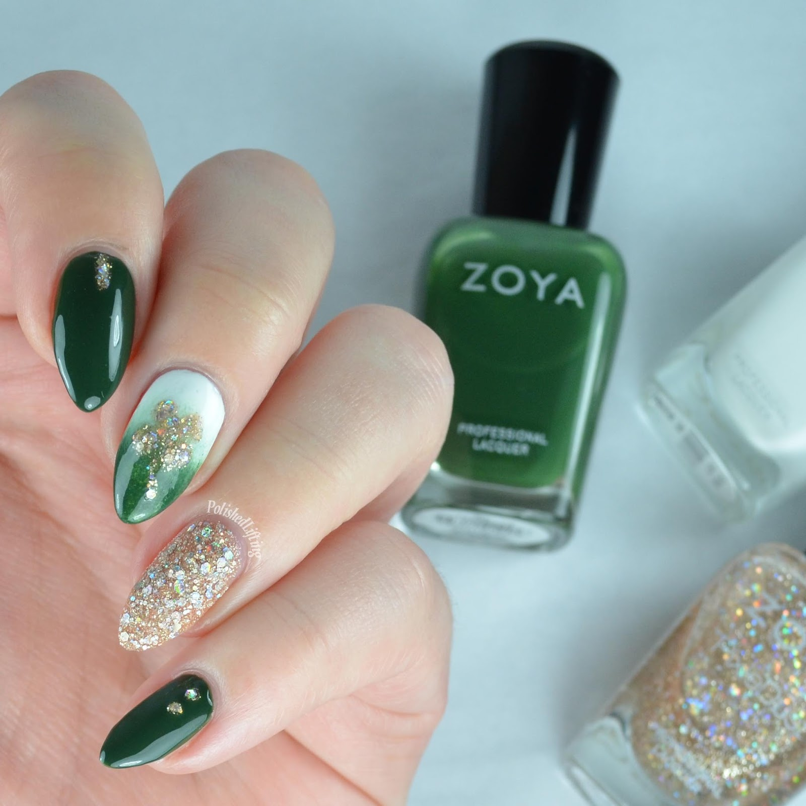 Polished Lifting: March Clairestelle8 Nail Art Challenge - St ...