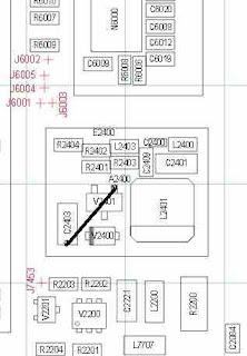 Solusi Nokia 206 lampu lcd putih