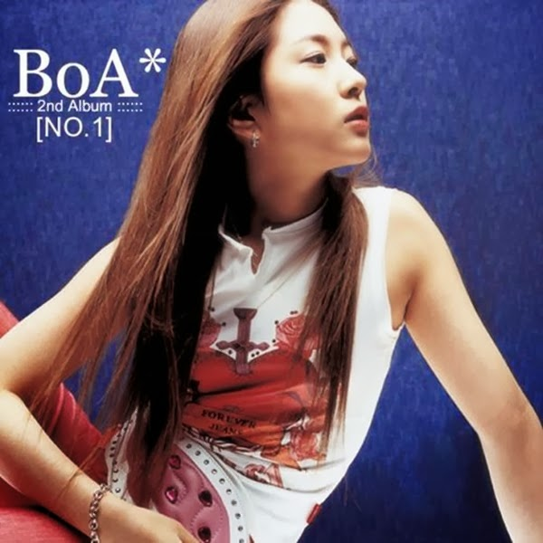 BoA – NO.1 – The 2nd Album (FLAC + ITUNES PLUS AAC M4A)