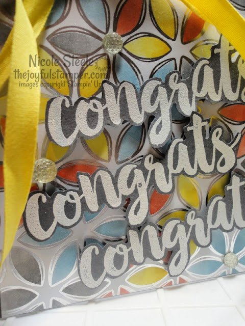 Seriously The Best + Flowering Foils colored with Stampin' Blends | Congratulations card Nicole Steele The Joyful Stamper | Stampin' Up!