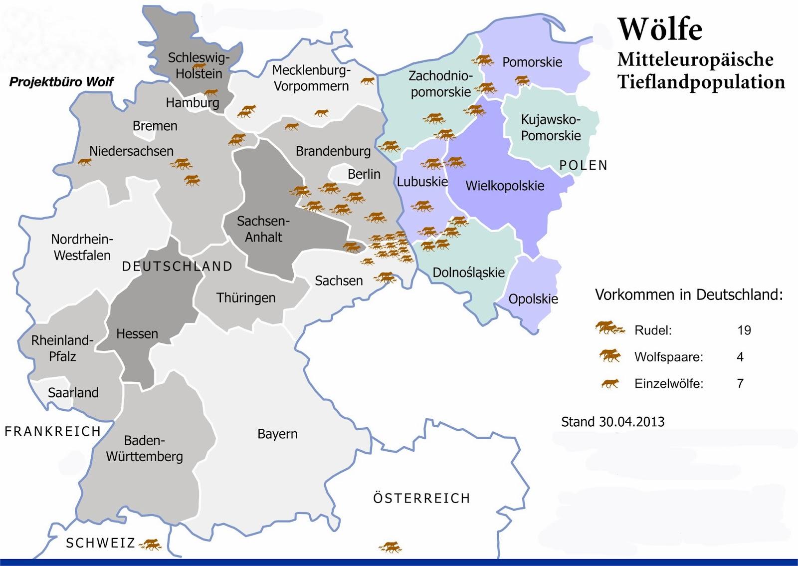 Wölfe In Brandenburg Karte.Wölfe