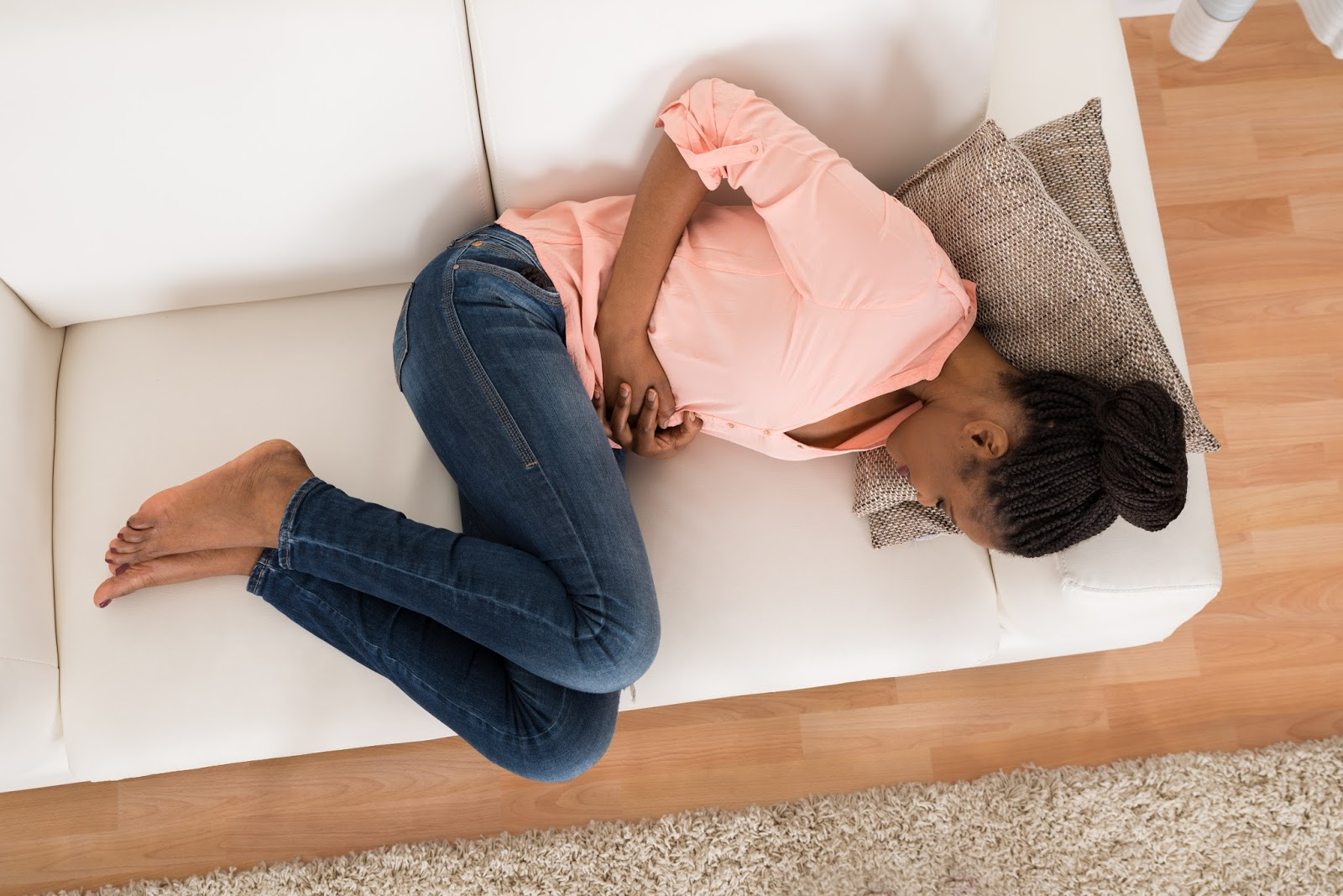 Image result for african woman period pain