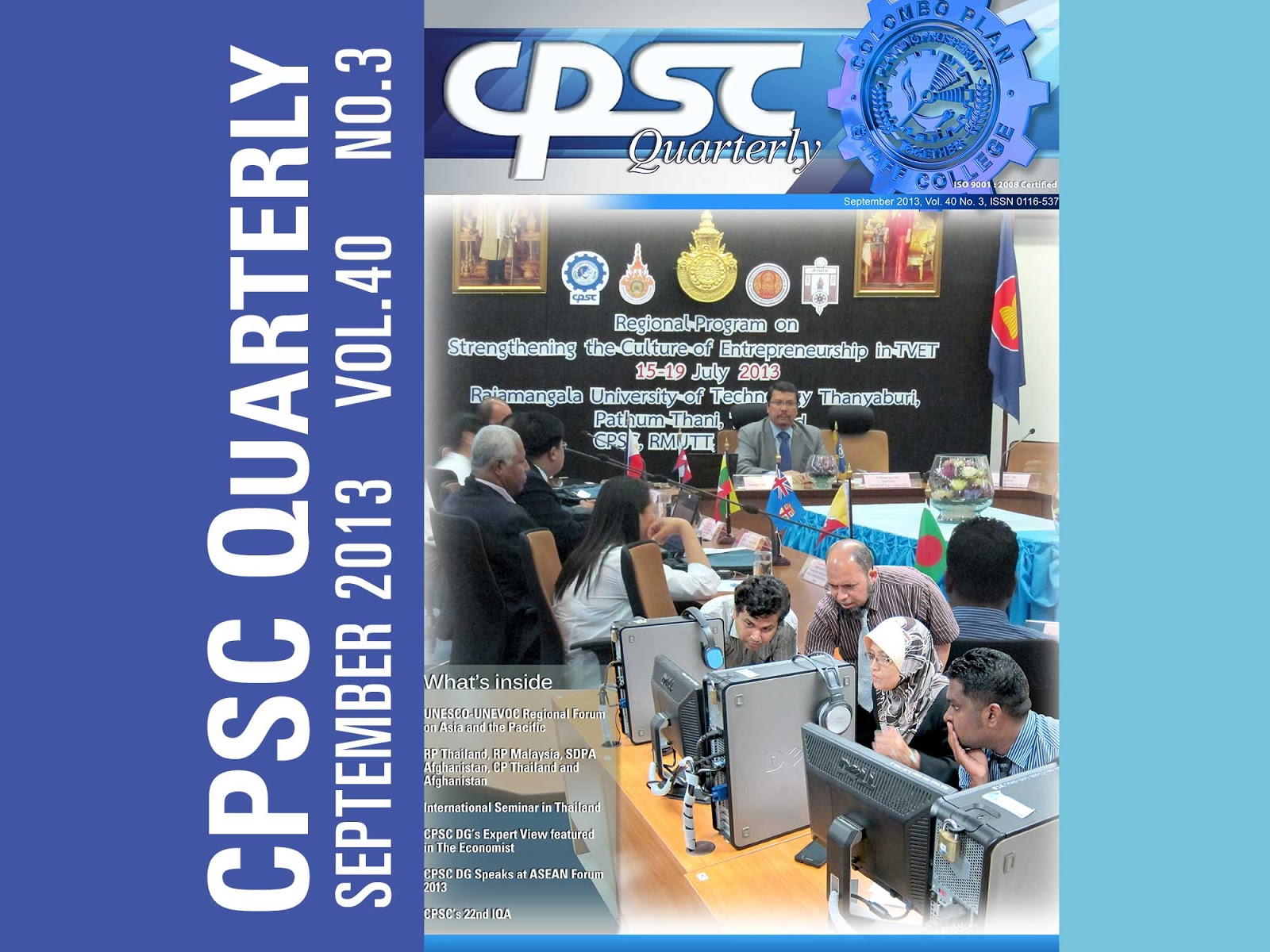 CPSC Quarterly September 2013